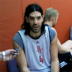 Luis Scola Houston Rockets