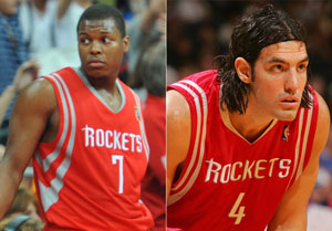 Kyle Lowry and Luis Scola