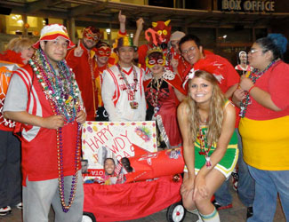 Houston Rockets Red Rowdies in New Orleans