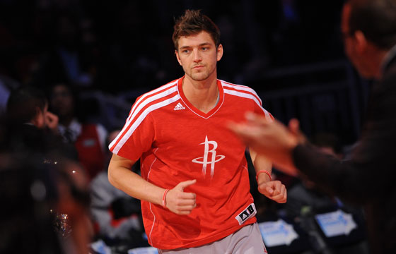 Chandler Parsons of the Houston Rockets