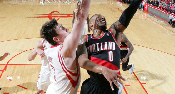 The defense of Omer Asik could be crucial against Portland