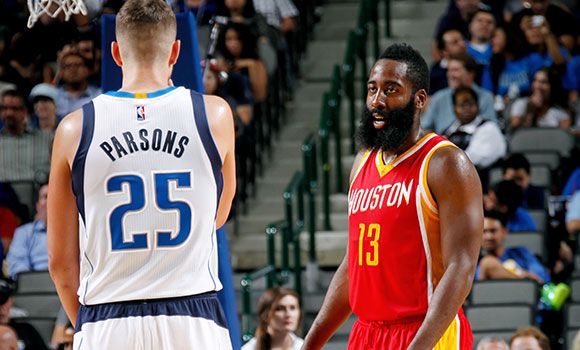 James Harden and Chandler Parsons