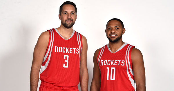 Ryan Anderson Eric Gordon Houston Rockets
