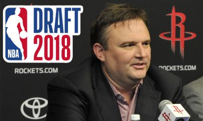 Daryl Morey Houston Rockets 2018 NBA Draft