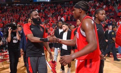 James Harden Danuel House Game 1 win over Utah