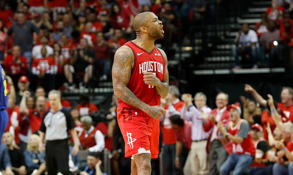 PJ Tucker Houston Rockets Golden State Warriors