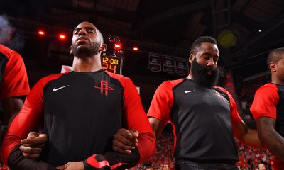 James Harden Chris Paul Houston Rockets
